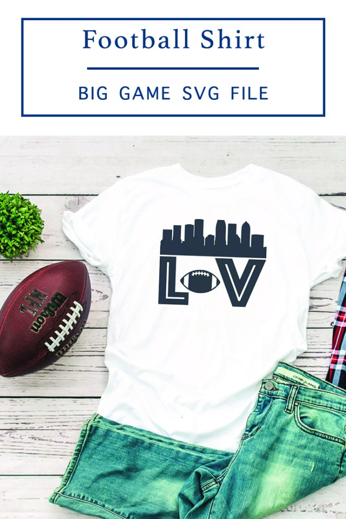 DIY Big Game Shirt