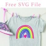 Rainbow Shirt DIY