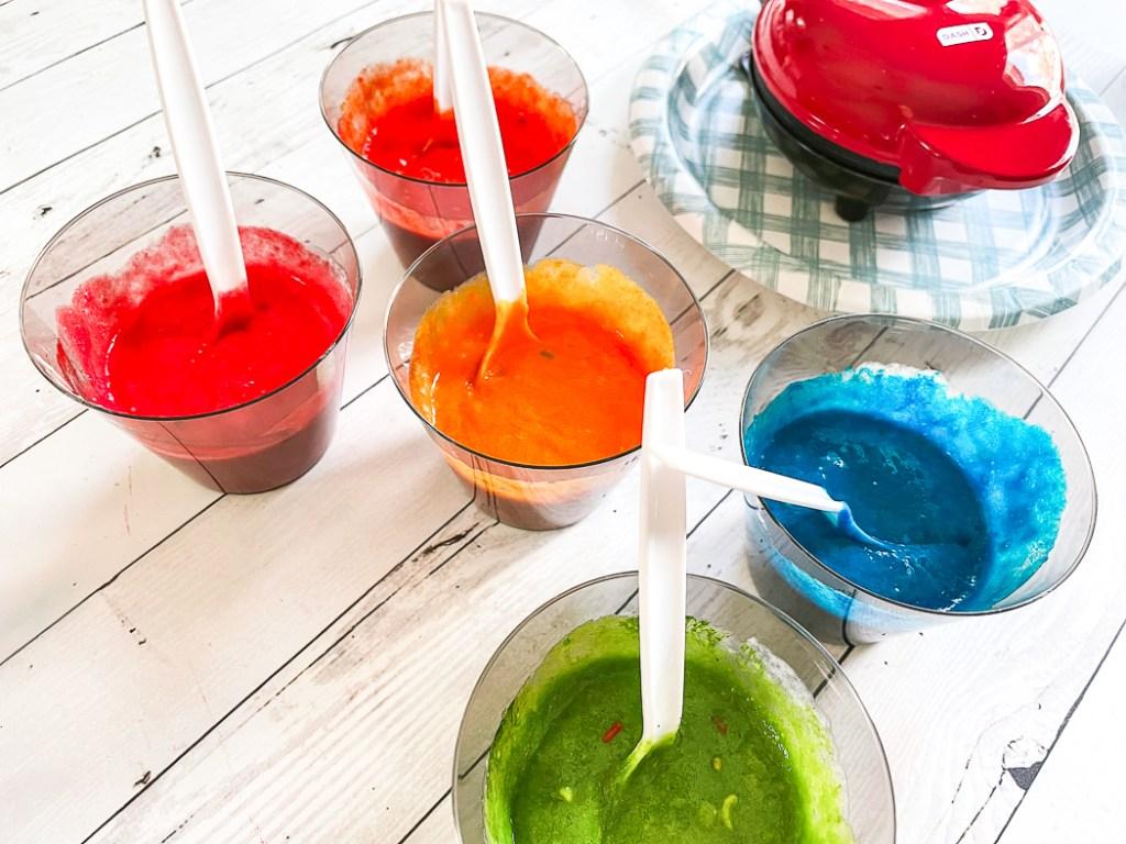 Rainbow Colored Cake Mix