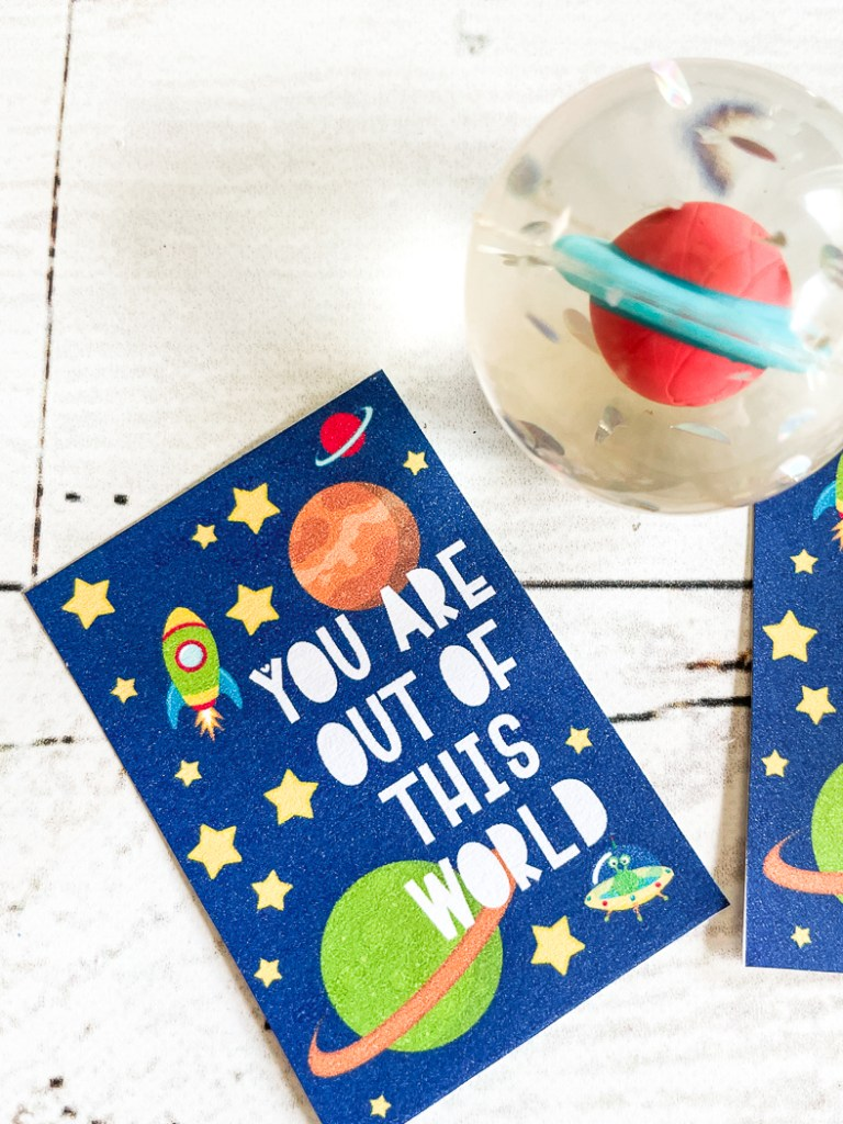 Space Printable Cards