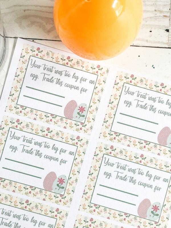 Printable Easter Coupons