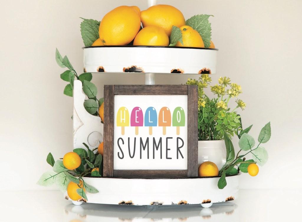 Farmhouse Summer Sign