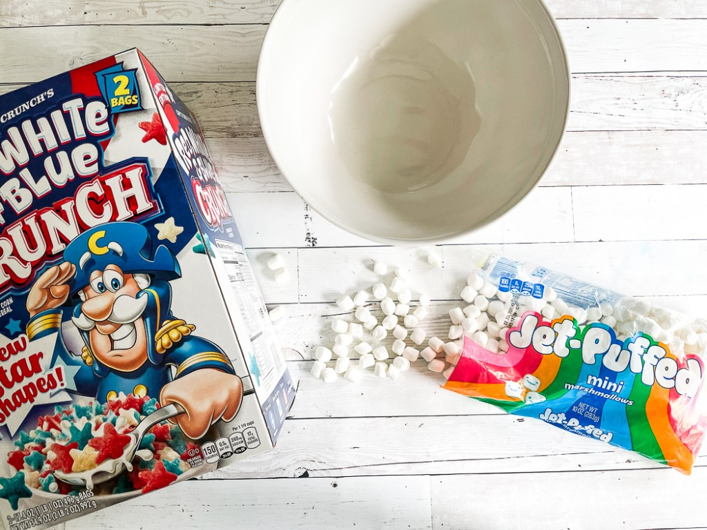 Cereal Marshmallow Bowl