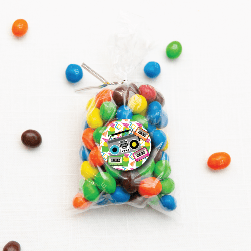 Boom Box Candy Gift Tag