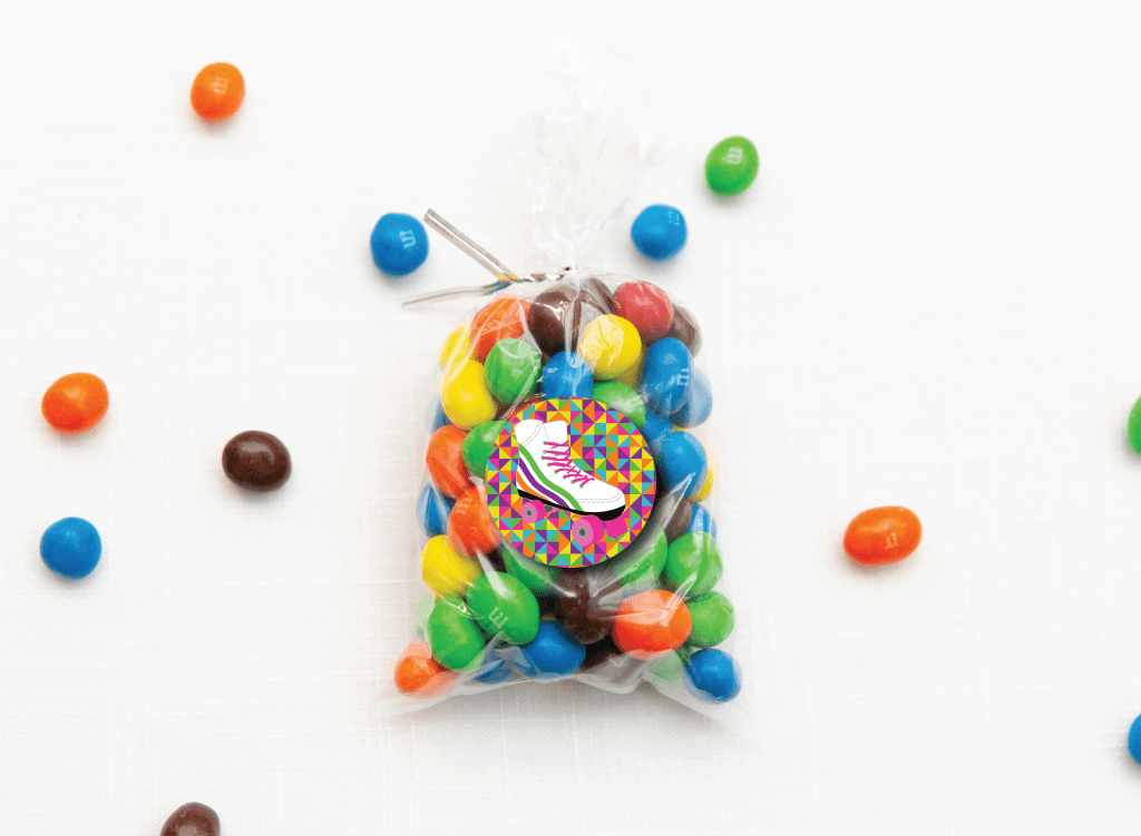 Roller Skate Candy Tag