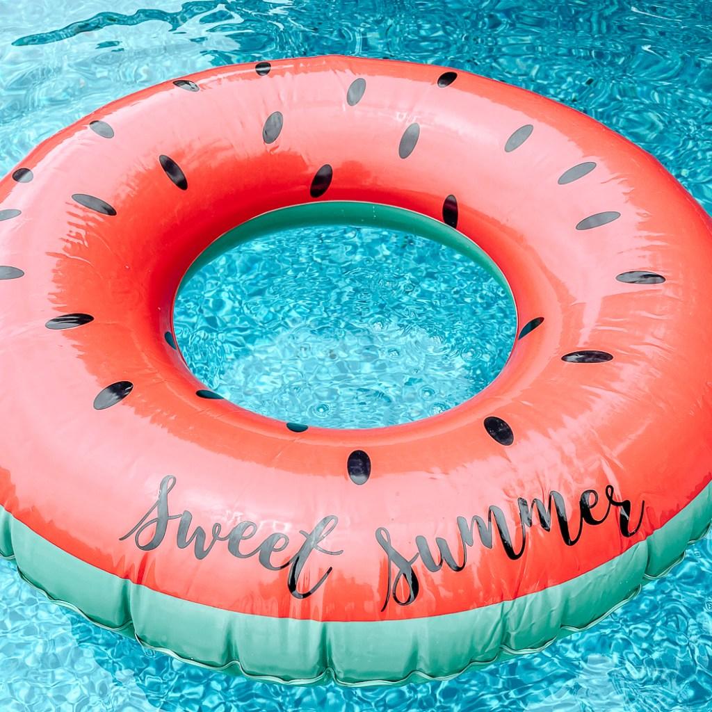 Custom Watermelon Pool Float