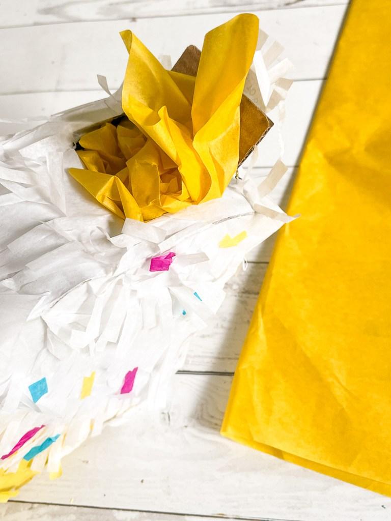 Piñata and Tissue Paper