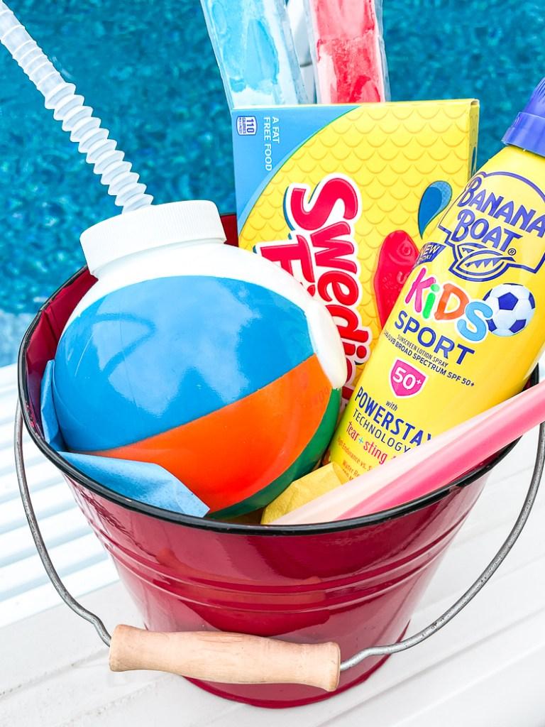 Kids favor bucket