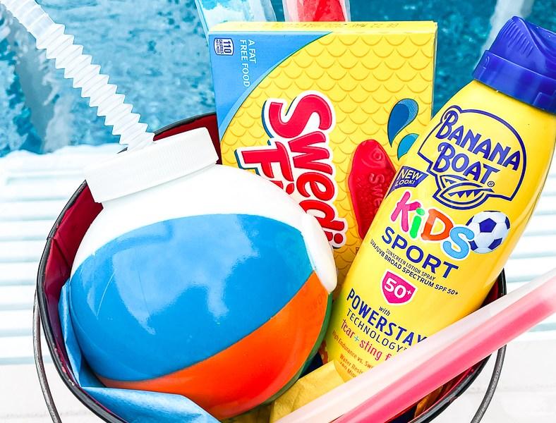 Sunscreen Beach Ball Cup