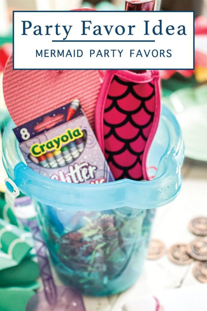 DIY Party Favor Bucket