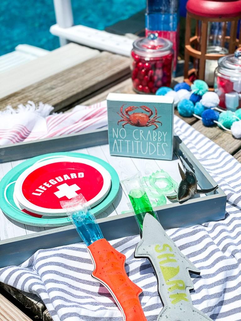 Shark Party Tray