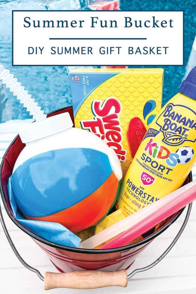 Summer Supply Bucket