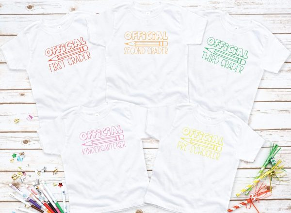 Official Elementary School Shirts