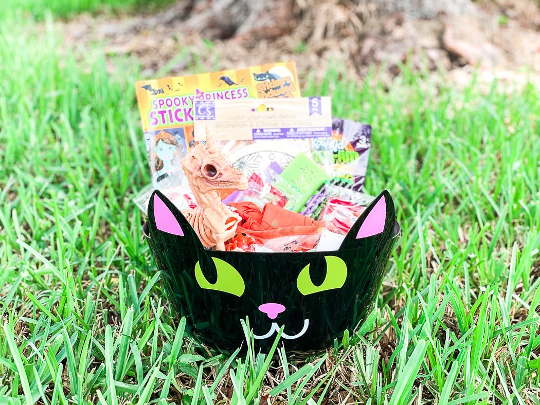 Halloween Cat Bucket