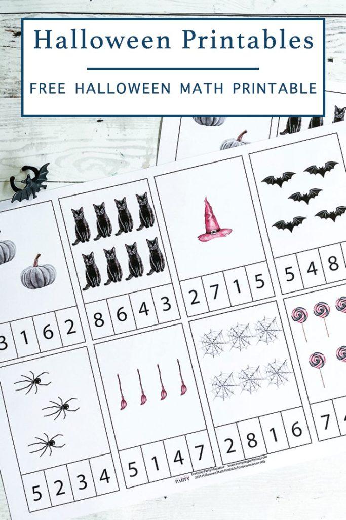 Halloween Class Activity Sheet