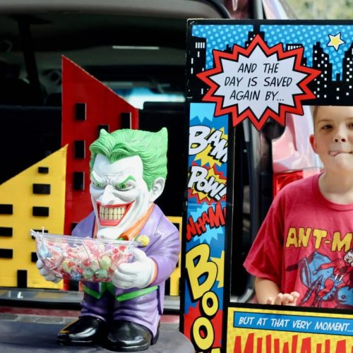 Everyday Party Magazine Super Hero Trunk or Treat