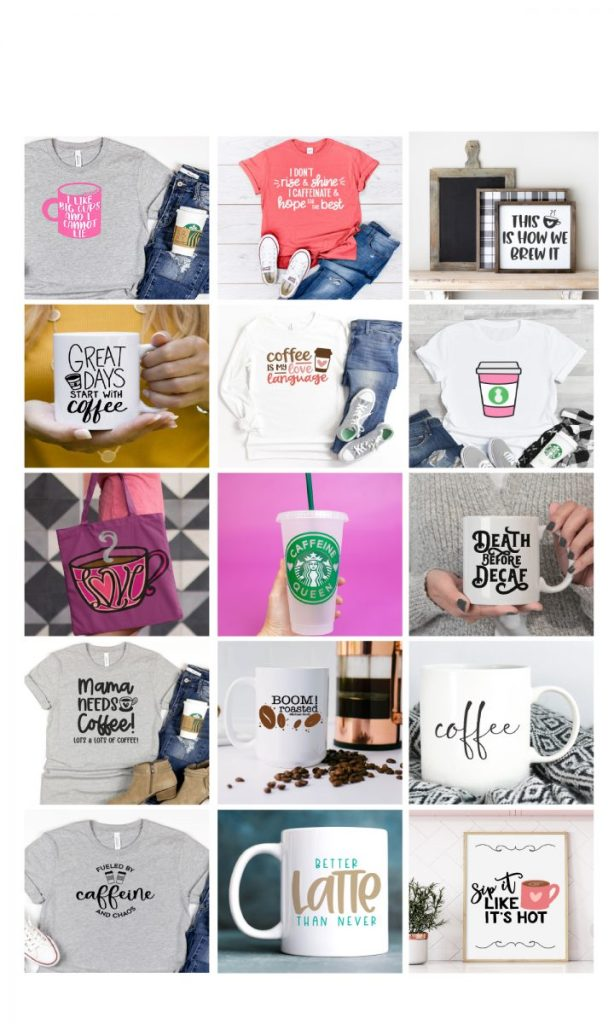 Coffee SVG Collage