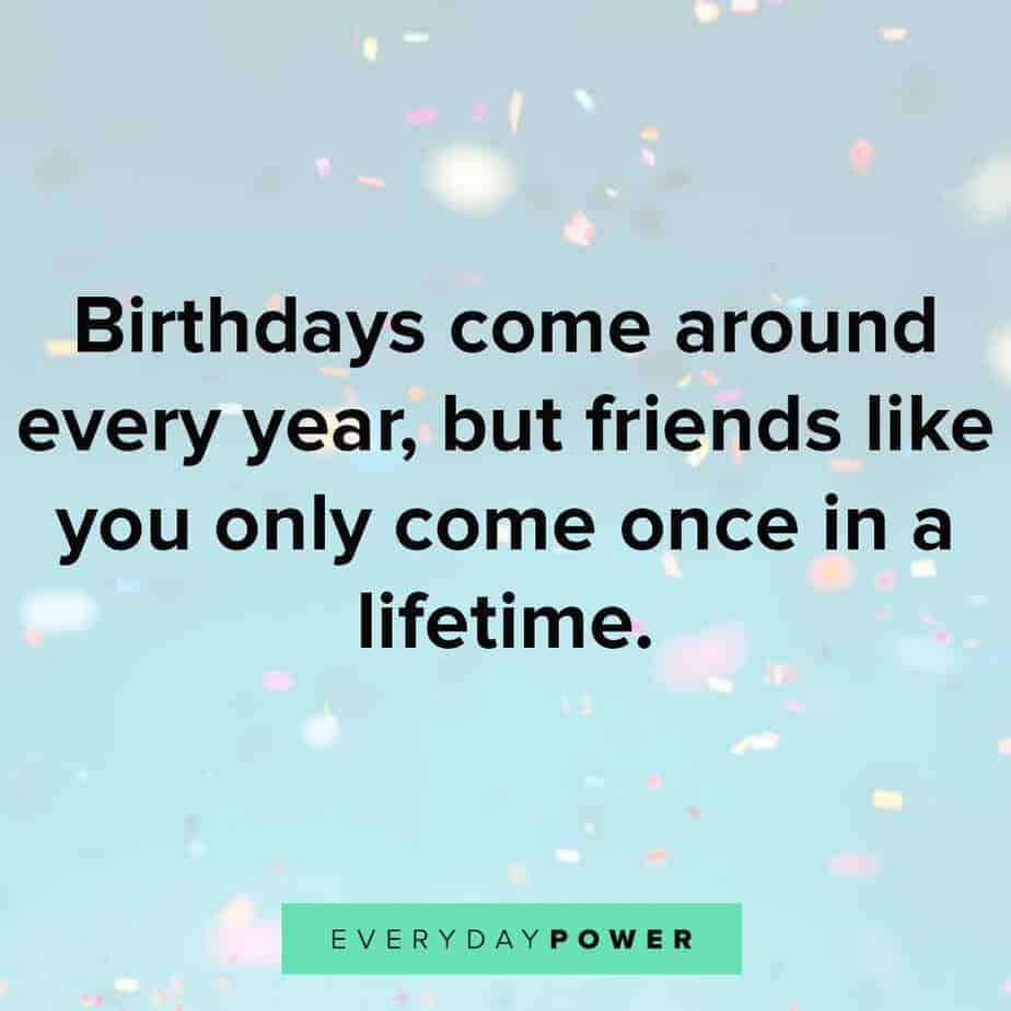 Happy Birthday Quotes Wishes For Your Best Friend Everyday Power