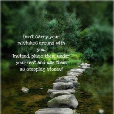 Inspirational Picture Quotes STEPPING STONES