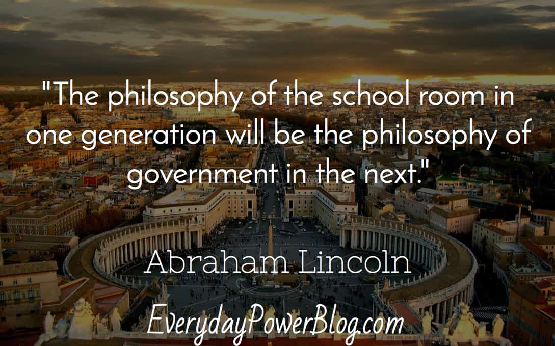 Abraham Lincoln Quotes about america