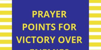 victory | PRAYER POINTS