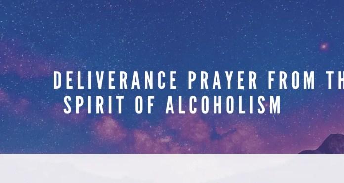 Leveringsbønn fra alkoholisme