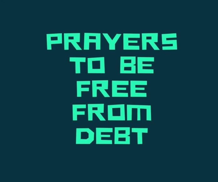 Molitve da budu bez dugova
