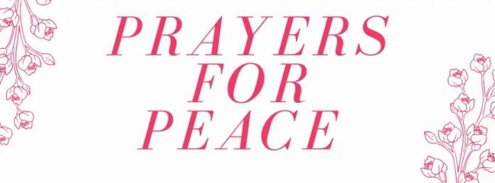 Молитве за мир и удобност