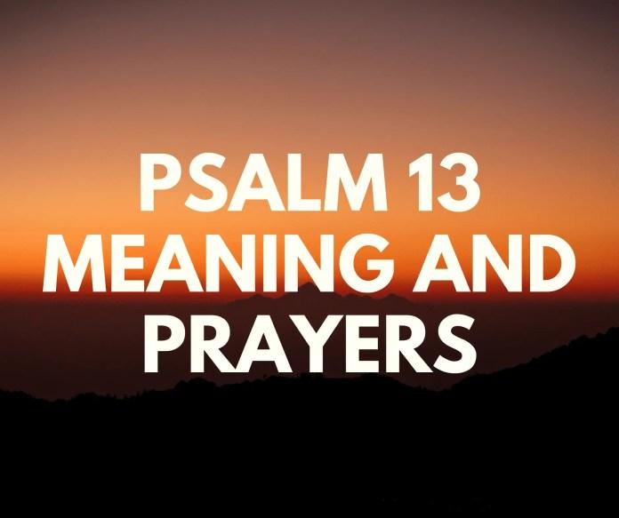 Salm 13 Yr Adnod Neges Trwy Adnod