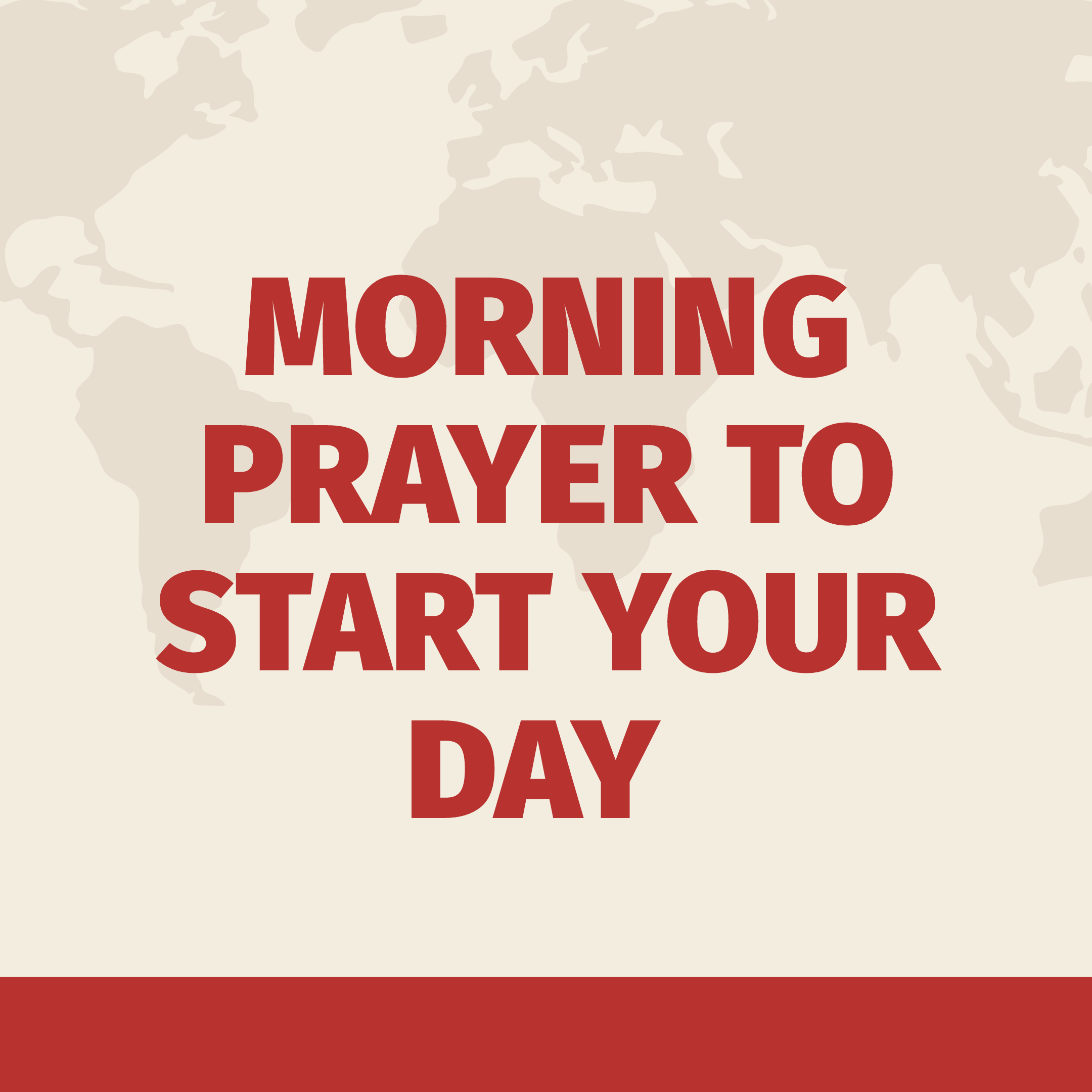 Start your day to morning prayers 5 Morning