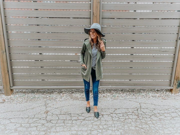 Hooded Cardigan Two Ways
