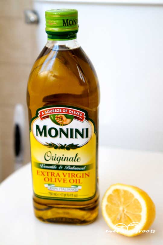 oil and lemon constipation remedy