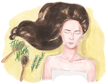 3 Homemade Hair Tonics for Strong  Healthy   Shiny Hair