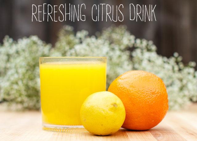 citrus drink remedy