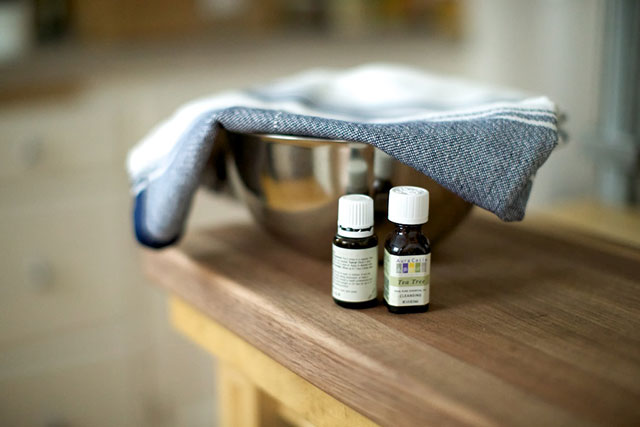 essential oil steam for cold