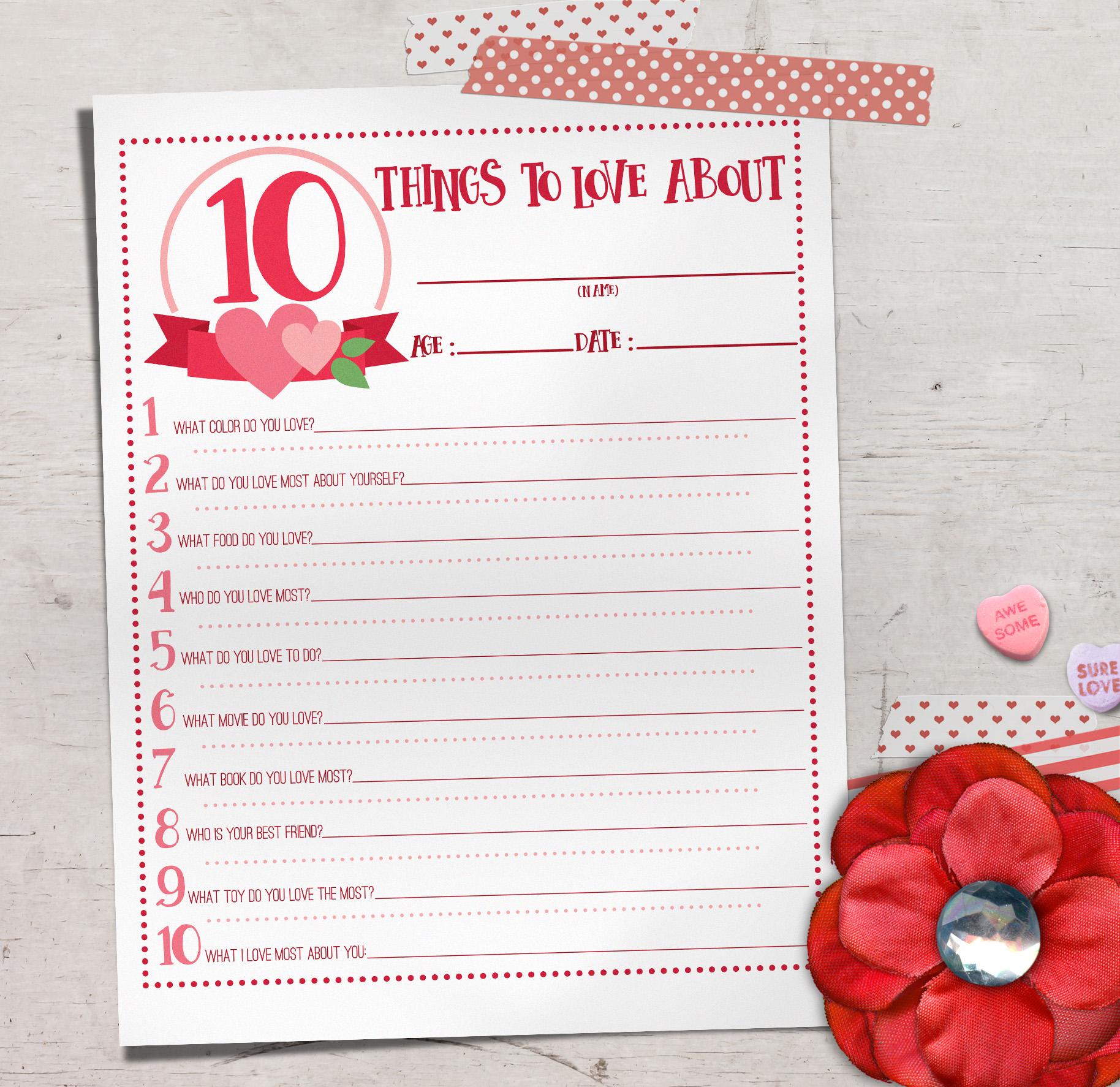 Valentine Quiz For Kids