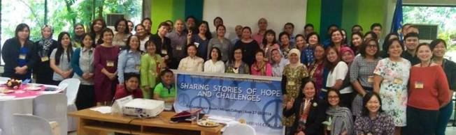 Inspired in the presence of all these talented and passionate peace educators.
