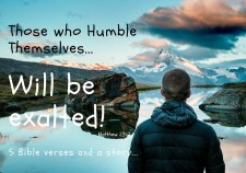 those who humble themselves