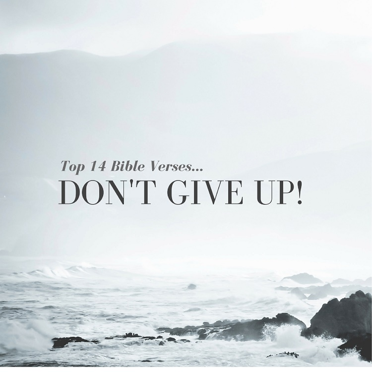Top 14 Bible Verses Dont Give Up