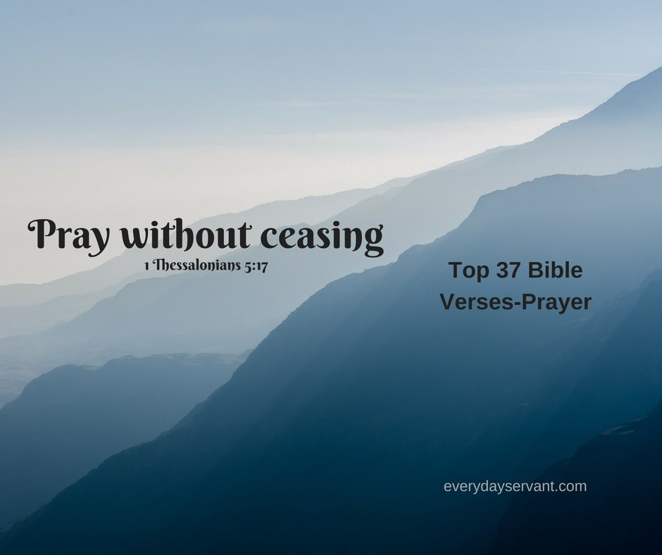 Top 37 Bible verses-Prayer