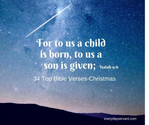 34 top bible verses christmas everyday servant