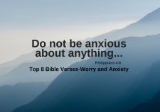 op 8 Bible Verses-Worry and Anxiety
