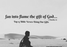 Top 15 Bible Verses-Using our Gifts