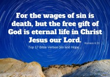 Top 17 Bible verses-Sin and Hope