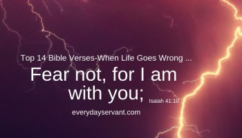51 Bible Verses - Relying on the Strength of God - Everyday Servant