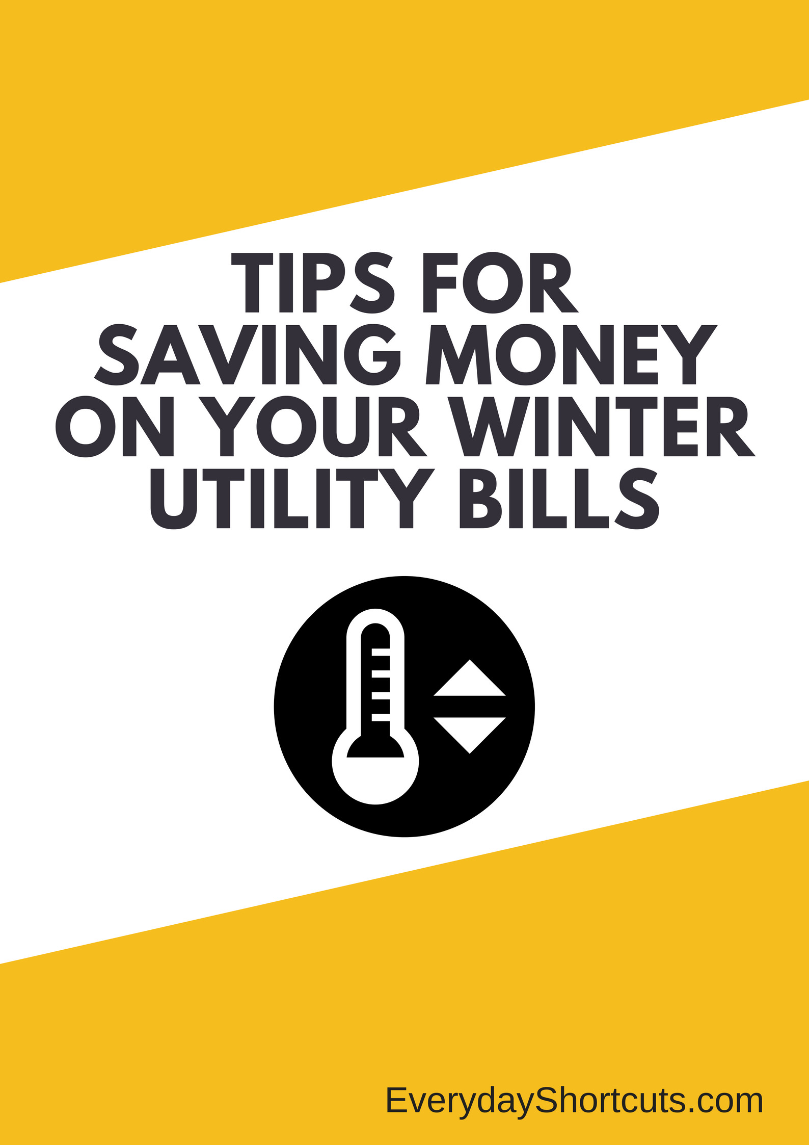 Tips to Saving Money on Your Winter Utility Bills