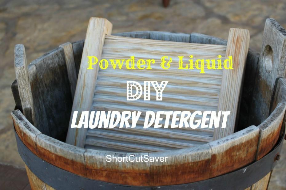 DIY Laundry Detergent