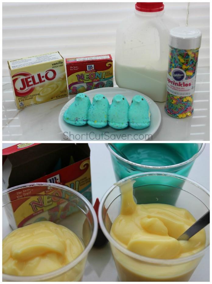 Peeps Pudding Cups Ingredients2