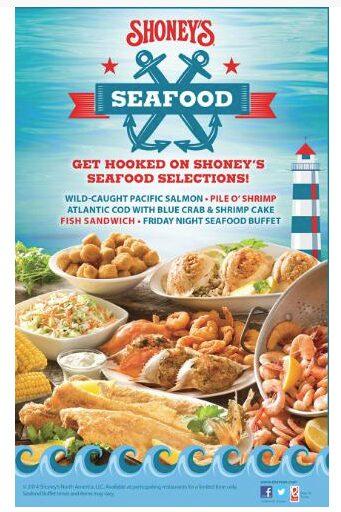 shoney's seafood selections