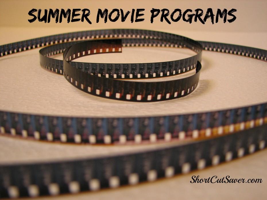 summer movie programs list